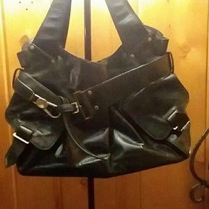 Kooba Jacinda black leather purse